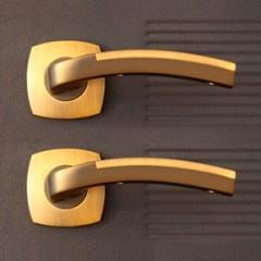 Ручки для  двери Аллегро ДК золото