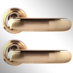 Ручка дверная Wuhu матовое золото