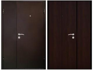 Двустворчатая дверь 1200 венге